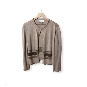 St John Collection Button Front Cardigan